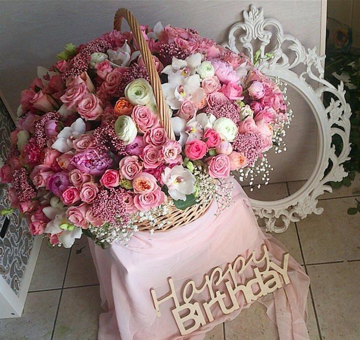 фото день рождения цветы букет красивый устроить встроенный